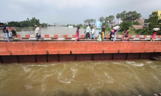 Heavy Rainfall In Bihar
