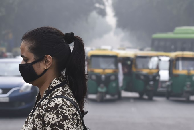 Air Pollution In New Delhi 2019