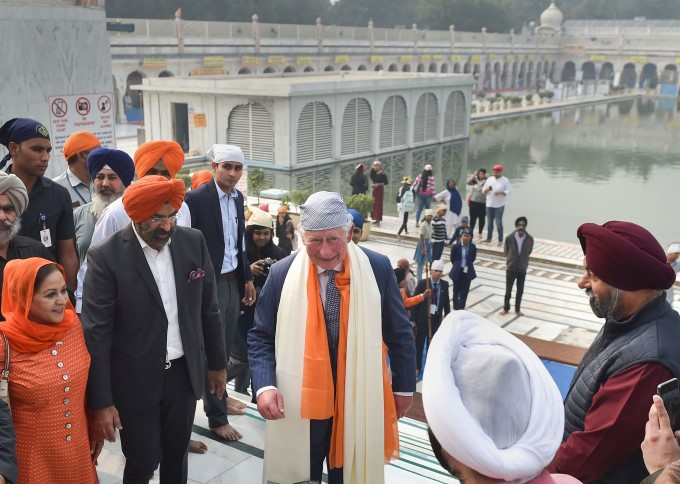 Britain Prince Charles 2 Day Visit To India