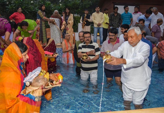 Chhath Puja Celebration Across India 2019