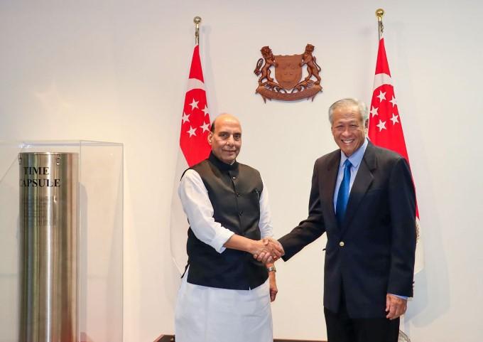 Defence Minister Rajnath Singh 2 Days Visit To Singapore