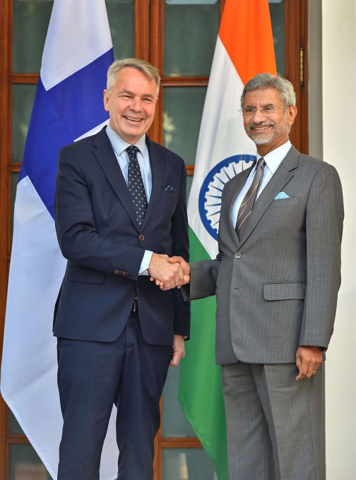 Finland Foreign Minister Pekka Haavisto 4 Day Visit To India