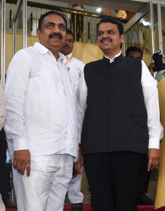 Maharashtra MLAs Swearing Ceremony At Vidhan Bhavan In Mumbai