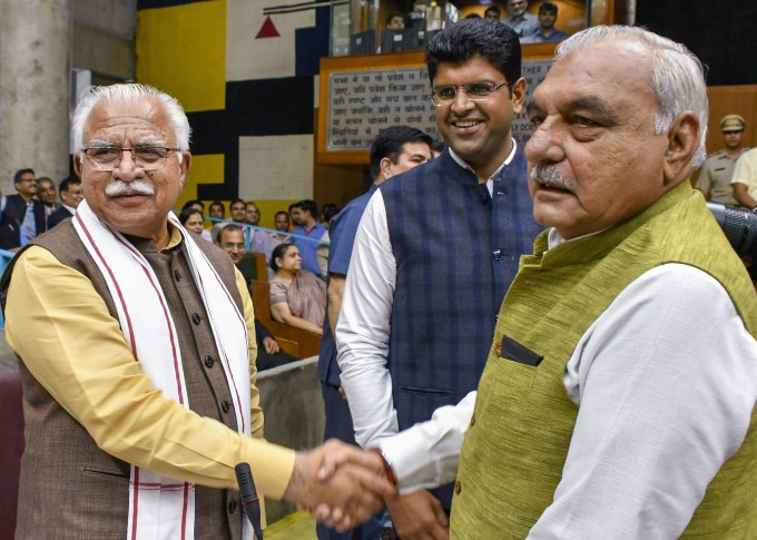 Newly Elected Haryana MLAs Oath Taking Ceremony