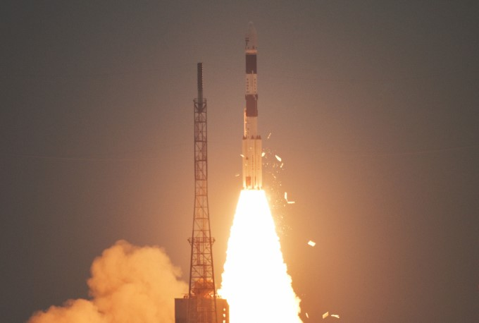 ISRO Launches Cartosat 3, 13 Nano Satellites