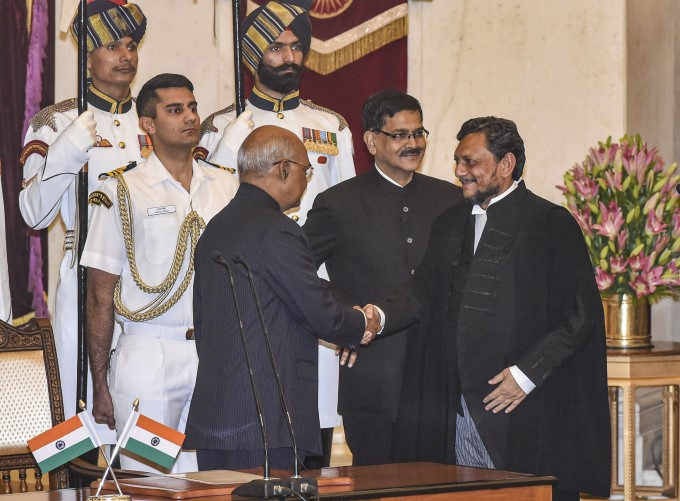 Justice SA Bobde Takes Oath As 47th Chief Justice Of India
