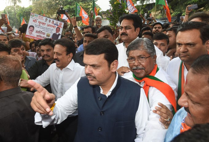 Devendra Fadnavis Sworn In As Maharashtra CM