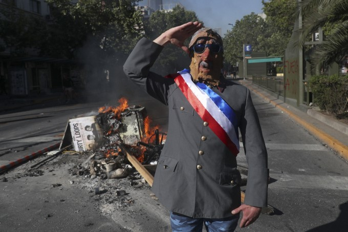 Protesters In Chile Demanded An End To Economic Inequality