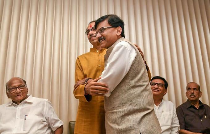 Sena-NCP-Congress Alliance Meeting
