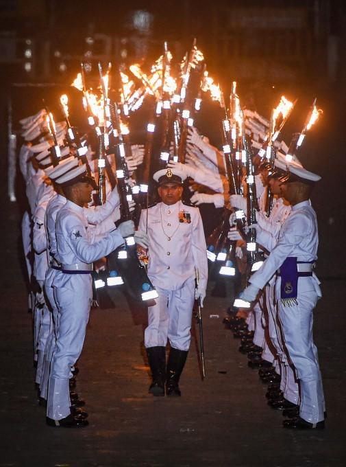 Indian Navy Day Celebrations In Mumbai - 2019