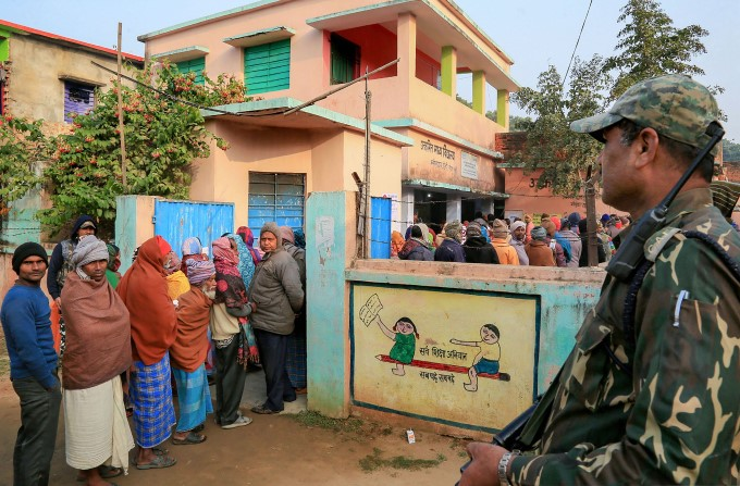 Jharkhand Assembly Elections 2019 - Polling