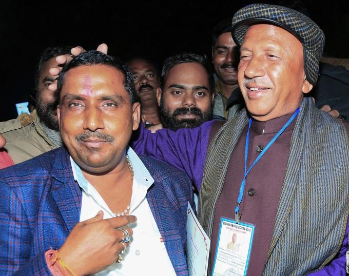 JMM-Congress Alliance Celebrations Over Jharkhand Election Victory