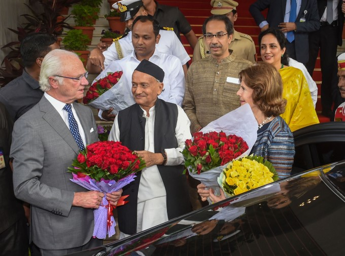 Swedish King Carl XVI Gustaf And Queen 5 Day Visit To India