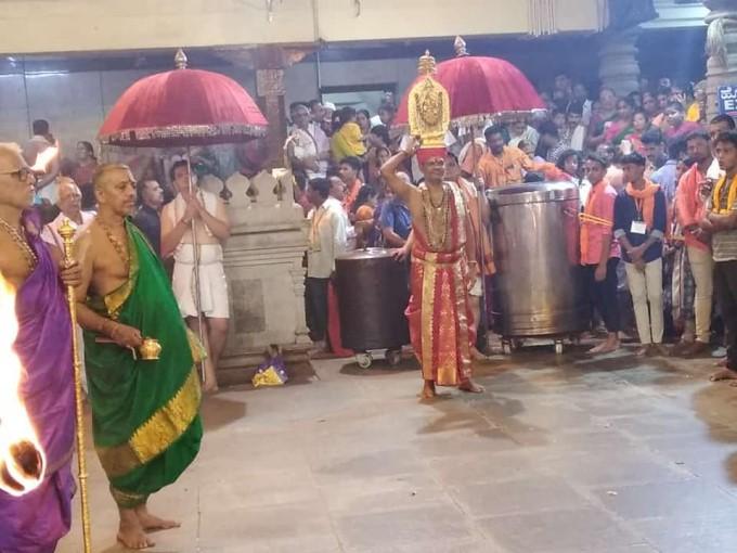 ಬ್ರಹ್ಮಕಲಶ, ದುರ್ಗಾಪರಮೇಶ್ವರಿ ದೇಗುಲ, ಕಟೀಲ್