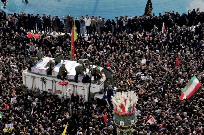 Funeral Procession Of Iran Gen. Qassem Soleimani