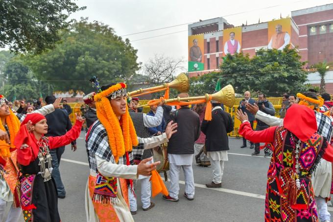 JP Nadda Takes Charge As BJP Chief