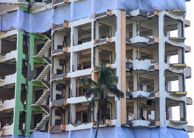 Maradu Flats Demolition In Kochi