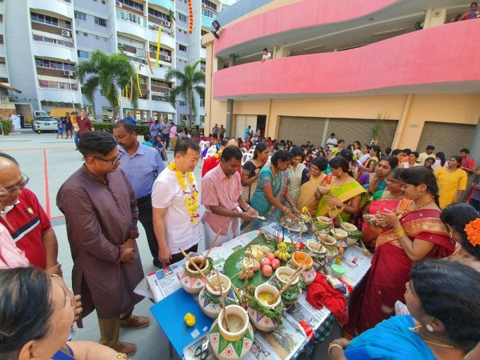 Residents Celebrate Tamil Pongal Festival, In Singapore