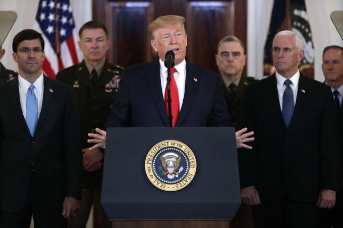 US President Trump Addresses Nation After Iran's Response