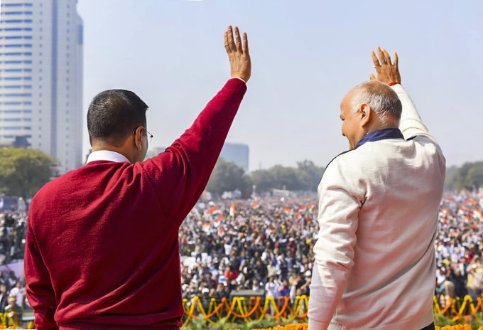 Arvind Kejriwal Sworn-in As Delhi Chief Minister