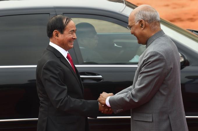 Myanmar President U Win Myint 3 Day Visit To India