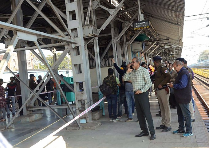 Railway Over-Bridge Collapse At Bhopal Railway Station