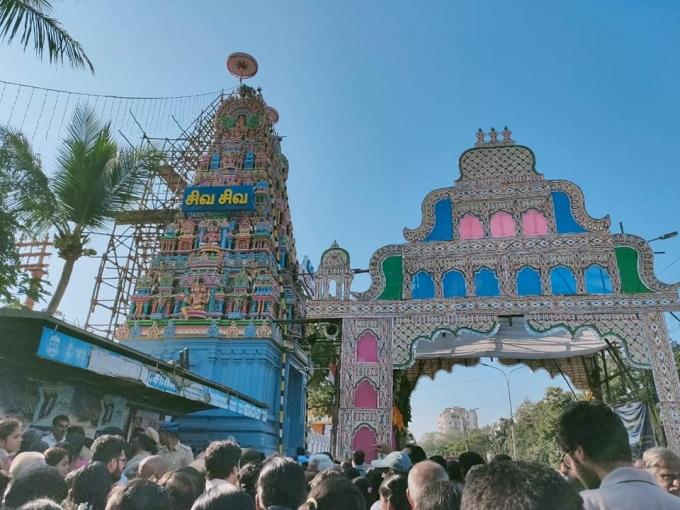 தஞ்சாவூர் கோவில் யாகசாலை பூஜை