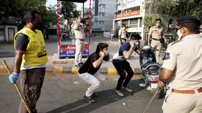 News In Photos (24 March 2020) | Photos Of Top News Today - Oneindia Gallery