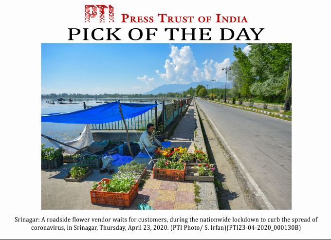 News In Photos (23 April 2020) | Photos Of Top News Today - Oneindia Gallery