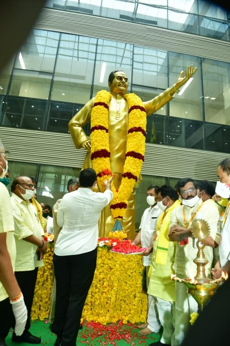 ఫోటోలు:  గ్రాండ్గా ప్రారంభమైన టీడీపీ మహానాడు 2020