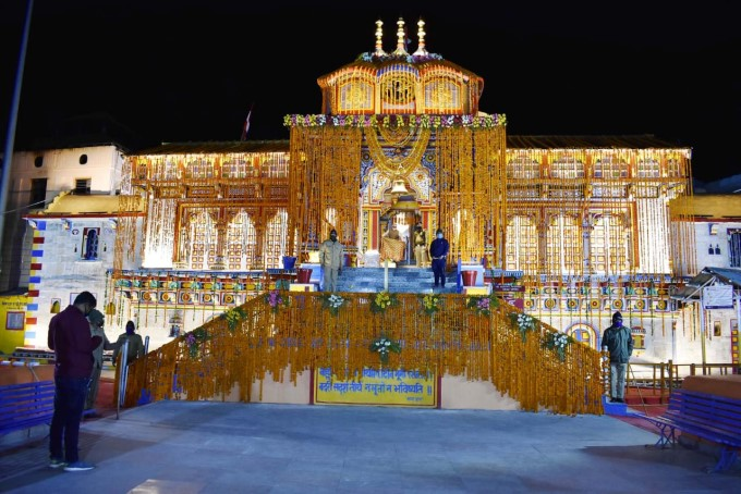 Badrinath Shrine Opens At Uttrakhand Amid Corona Lockdown In The Country