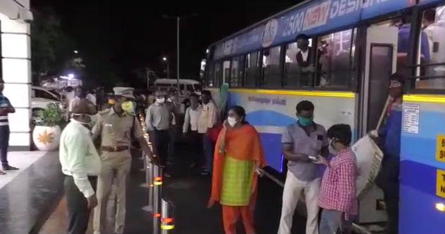 தப்லீக் மாநாட்டிற்கு சென்று வந்தவர்களை அழைத்து வந்தது சிறப்பு ரயில்