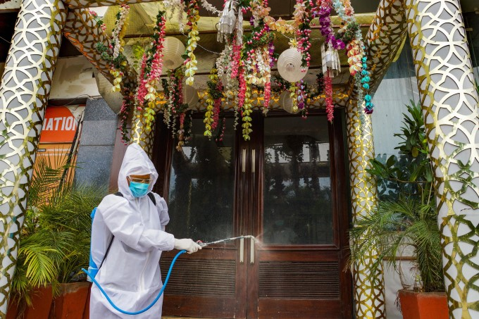 People Protecting From Coronavirus Attack Across The World