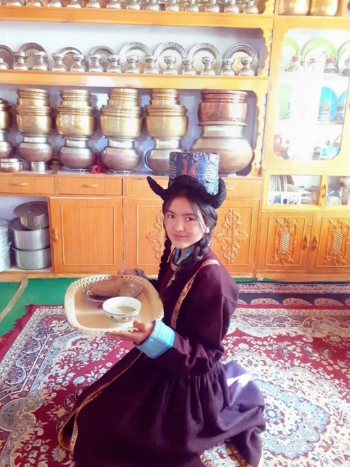 A Student Participates In An Activity At Druk Padma Karpo School