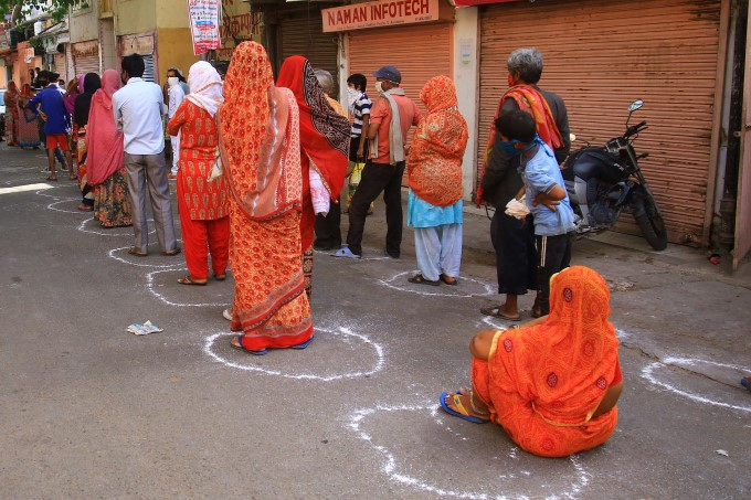 Here Are Pictures: Showing How People Re-Engineered For Social Distancing Across India