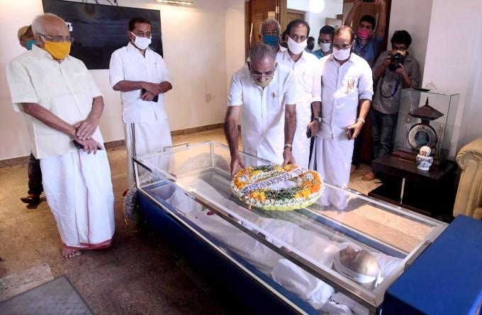 Former Union Minister Veerendra Kumar Passes Away