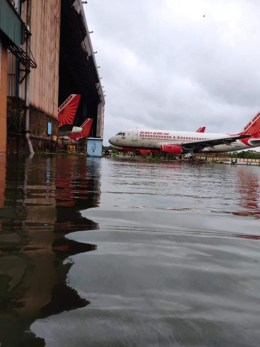 Kolkata Airport Flooded In The Wake Of Cyclone Amphan