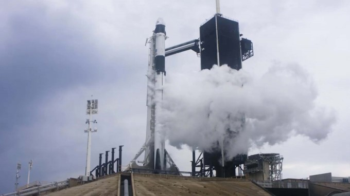 Nasa's SpaceX Demo Mission 2 Launch At Kennedy Space Center