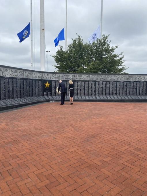 Memorial Day Ceremony In USA