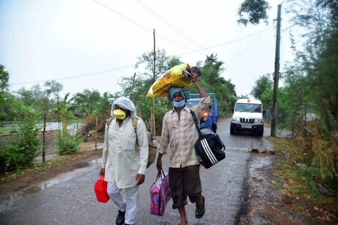 Cyclone Amphan Hit Odisha Badly With Strong Winds And Rains