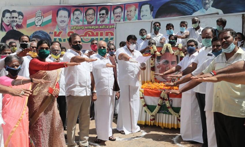 Rajiv Gandhi 29th Death Anniversary: Congress Leaders Pay Tribute