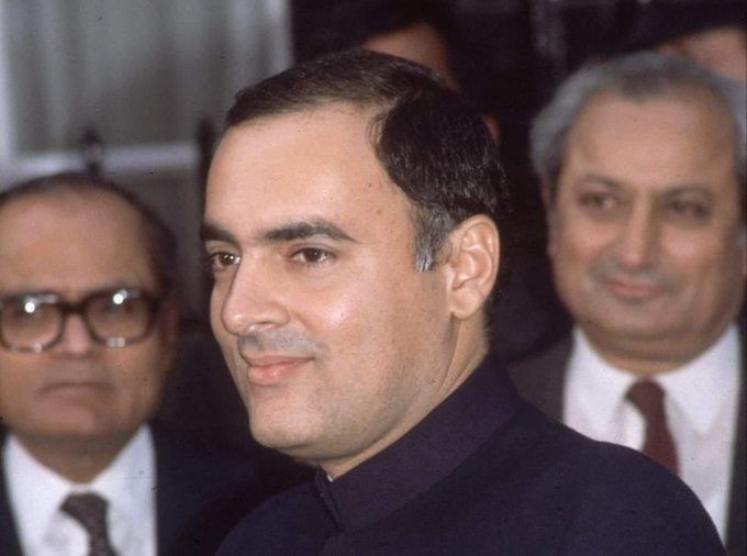 Rare Photos Of Former PM Rajiv Gandhi