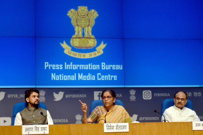 Finance Minister Nirmala Sitharaman Address Nation