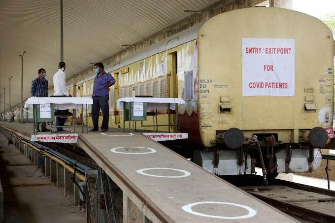 10 Railway Coaches Converted Into Isolation Ward In Delhi