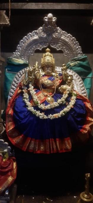 ಚಾಮುಂಡಿ ದೇವಿಯ ದರ್ಶನ ಪಡೆದ ರಾಜವಂಶಸ್ಥ ಯದುವೀರ್