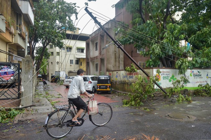 Damages Caused By Cyclone Nisarga