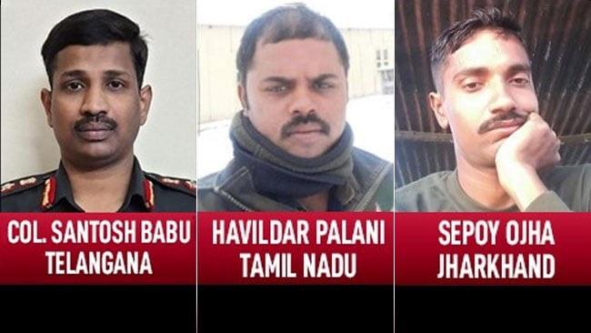 चीनी सैनिकों के साथ झड़प में कर्नल समेत भारत के तीन जवान शहीद