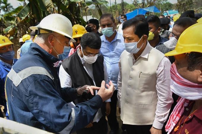 Massive Fire At Assam's Baghjan Oil Field