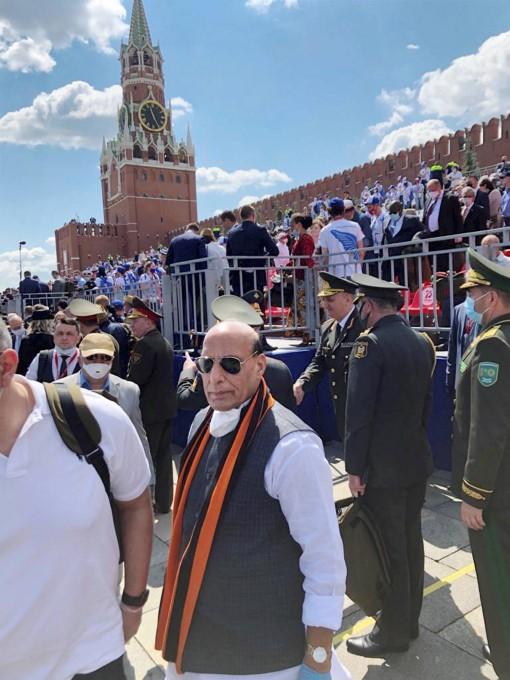 रूस में आयोजित 75वीं विक्टरी डे परेड की तस्वीरें