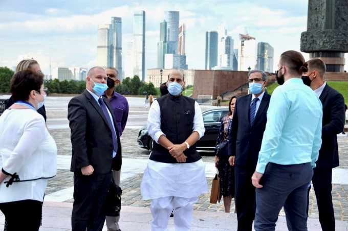 Defence Minister Rajnath Singh Visits Russia